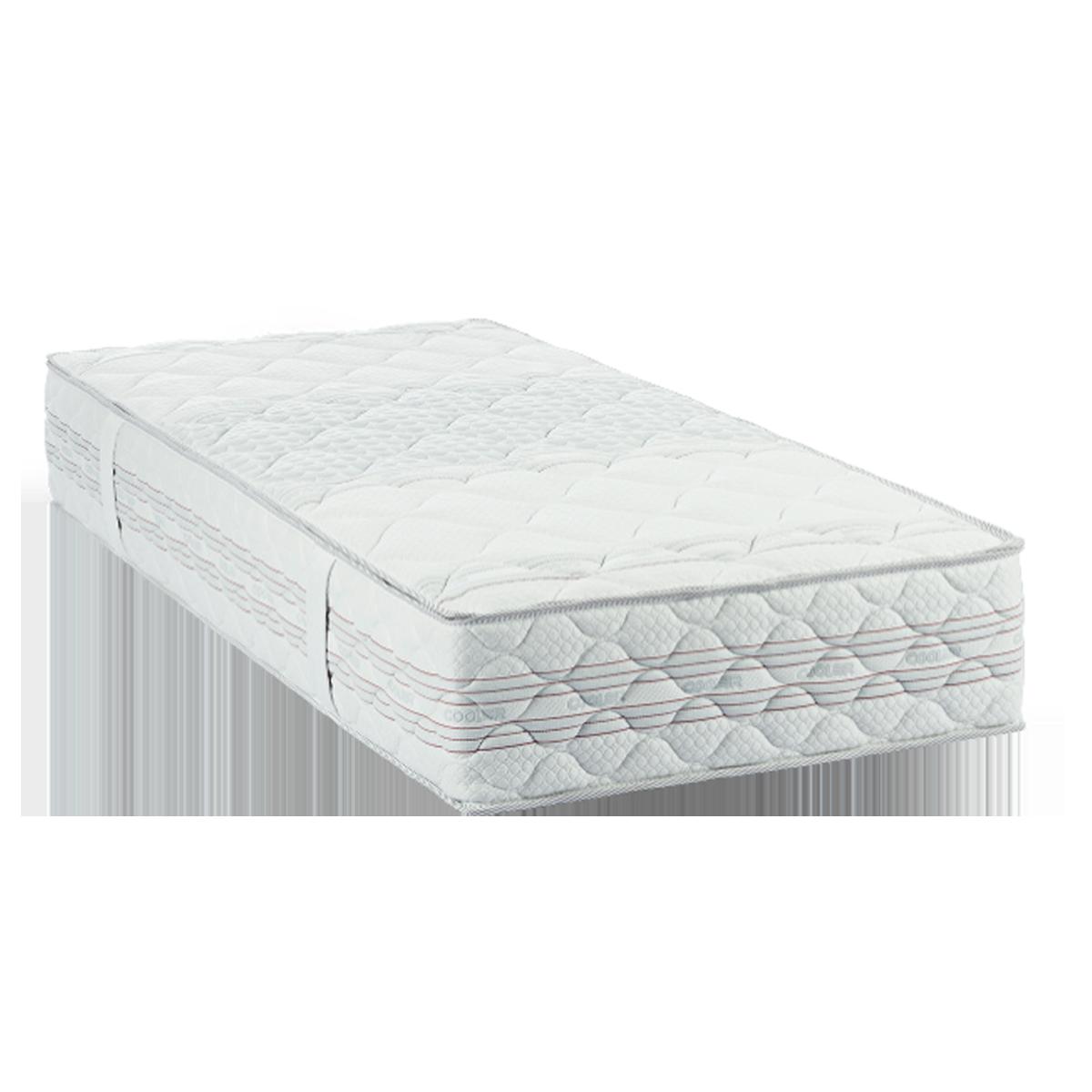 Dico Möbel Cooler Matratze mit Supermicropocket Memory/Hr Schaum