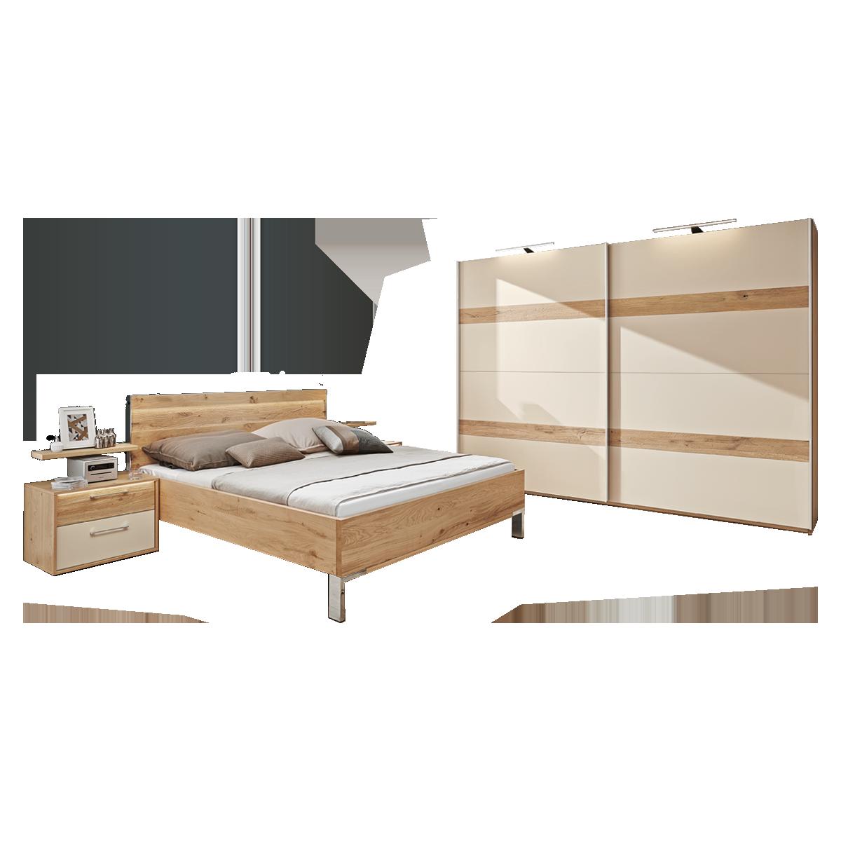 Disselkamp Cadiz Schlafzimmer Bett Nachtkommoden Schwebeturenschrank
