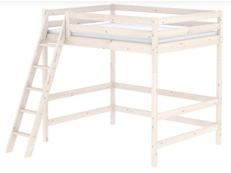 Hochbett Holz Weiß 140x200 : Hochbett flexa classic schön und zeitlos mit neuer schrägleiter