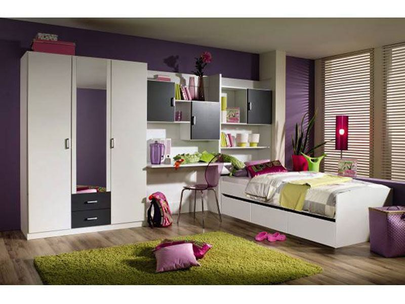 rauch pack s komplettes kinderzimmer jugendzimmer flow g nstig kaufen. Black Bedroom Furniture Sets. Home Design Ideas