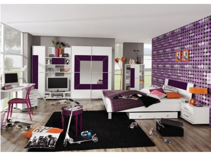 rauch 6 teiliges jugendzimmer georgia g nstig online kaufen. Black Bedroom Furniture Sets. Home Design Ideas