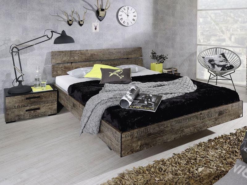 schlafzimmer rauch sumatra, rauch select sumatra bettgestell in used optik günstig online kaufen., Design ideen