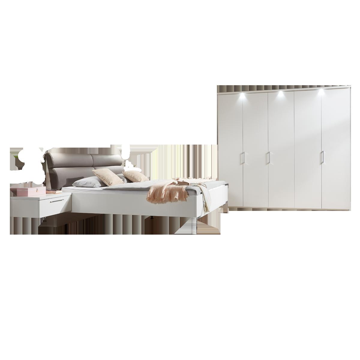 Disselkamp Cd Studioline Schlafzimmer Doppelbett Nachtkonsole Schrank