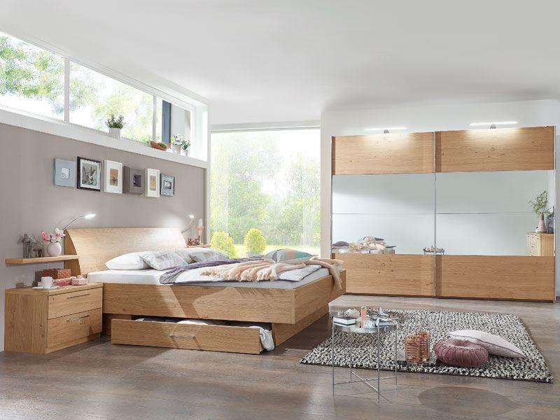 Disselkamp CD Studioline Schlafzimmer- Set in Wildeiche