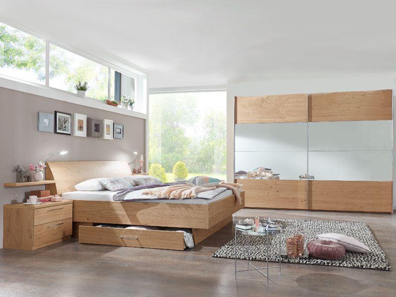 Disselkamp CD Studioline Schlafzimmer Doppelbett Schrank Nachtkommoden