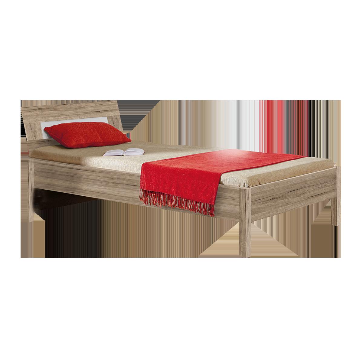 Forte Beach Jugend- und Schlafzimmer Bett Sandeiche Nachbildung
