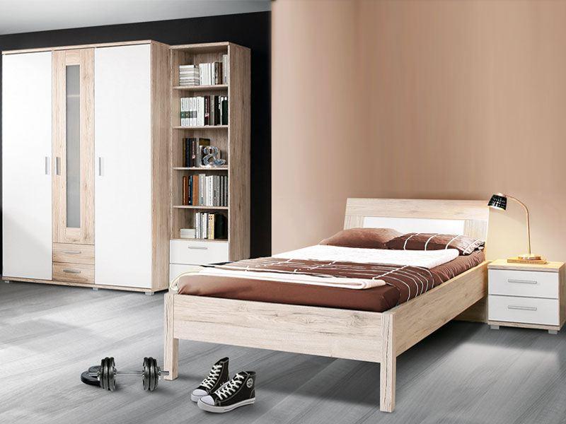 Modernes Jugendzimmer Von Forte 4 Teilig Mit Viel Stauraum