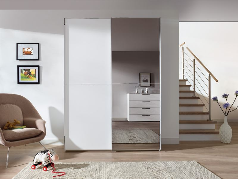 Schwebet renschrank marcato mit spiegelt r von nolte zu outletpreisen - Schlafzimmerschranke bei otto ...