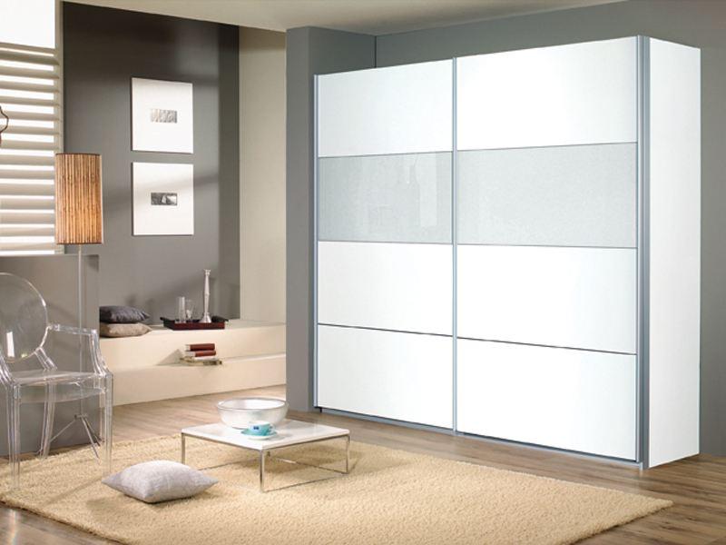 Kleiderschrank Quadra Von Rauch Schwebeturenschrank 2x Glasfelder
