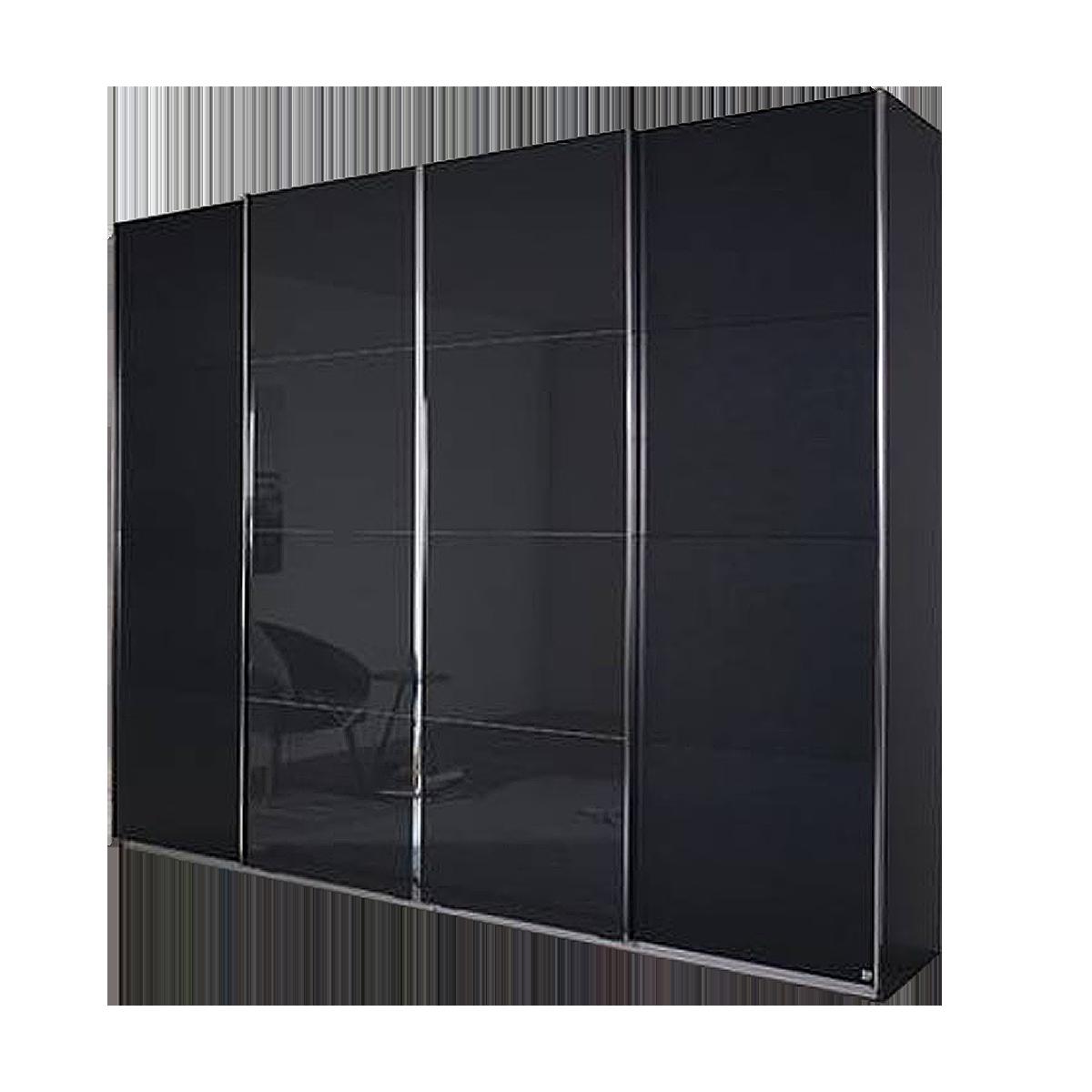 Rauch Packs Syncrono Imposanter Schwebeturenschrank Mit Teilglasfront
