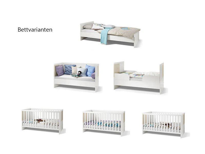 Babyzimmer Milla 2 Teilig Von Wellemobel Weiss Farbliche