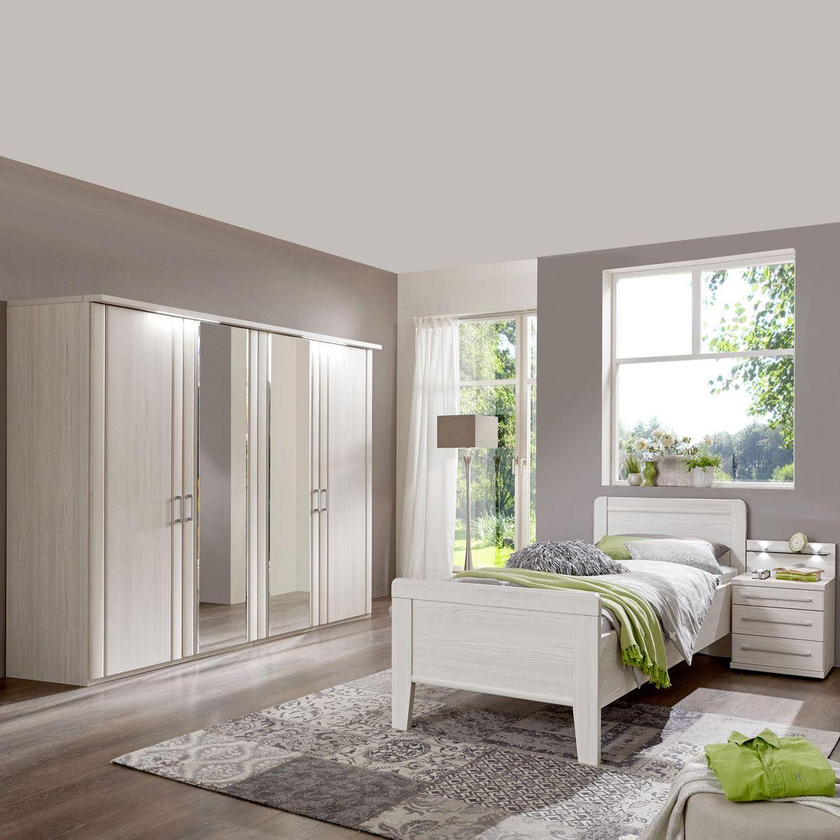 Wiemann Mainau Schlafzimmer Mit Drehturenschrank Bett Und Nachtschrank