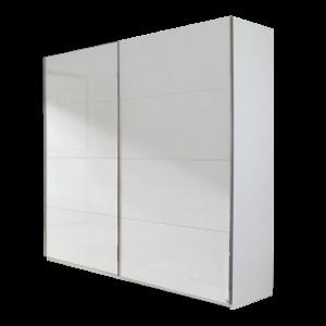 rauch quadra schwebet renschrank front in hochglanz wei. Black Bedroom Furniture Sets. Home Design Ideas