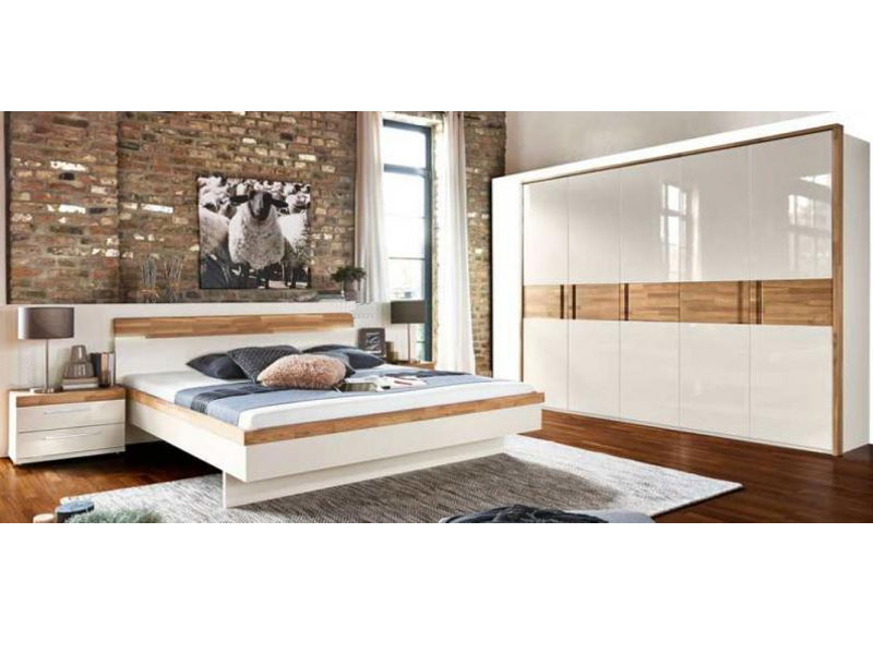 arte m feel komplettes schlafzimmer in hochglanz g nstiger kaufen. Black Bedroom Furniture Sets. Home Design Ideas