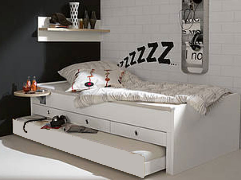 jugendzimmer betten tremo von wellem bel guenstiger kaufen. Black Bedroom Furniture Sets. Home Design Ideas